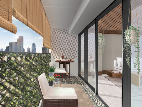 Reinventing the Japanese Balcony