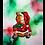 "Thumbnail: Santa Bear in Red 8""x10"" Print"