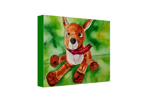 "Ryan Reindeer 8""x10"" Canvas Print"