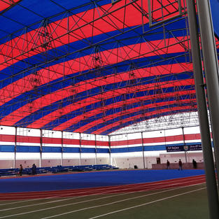 Long Span Shade Structure For School Sports Ground