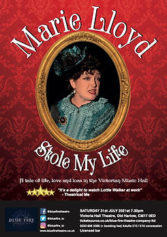 Marie Lloyd A4 Poster Victoria Hall (1).