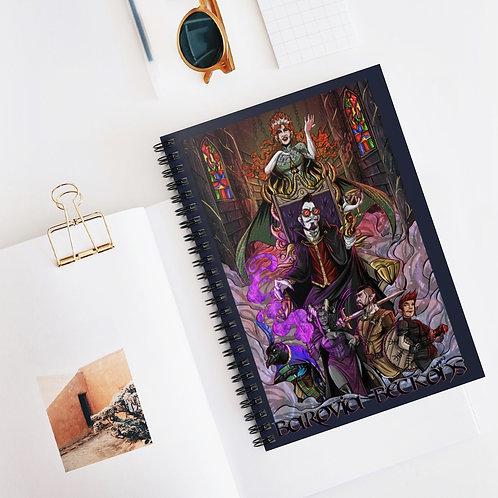 Barovia Beckons Spiral Notebook