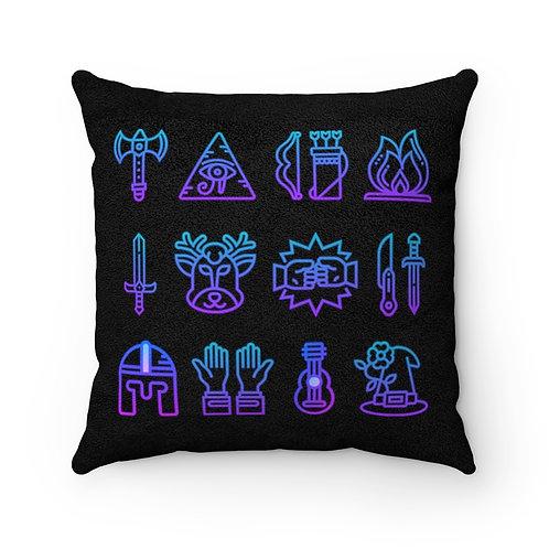 DnD Symbols Pillow