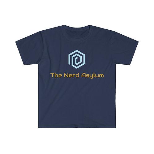 Nerd Asylum Unisex Softstyle T-Shirt