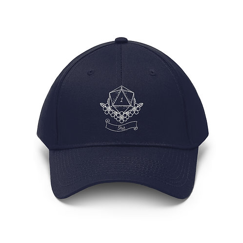 Natural 1 Twill Hat