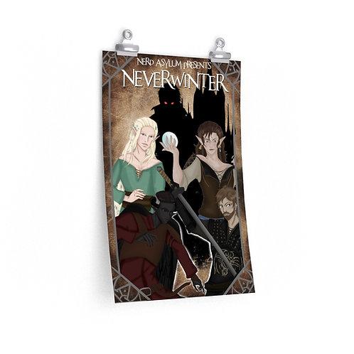 """Neverwinter Premium Matte 12"""" x 18"""" vertical poster"""