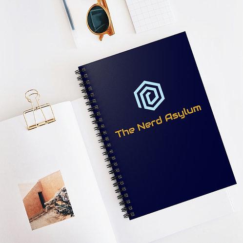 Nerd Asylum Spiral Notebook