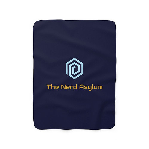Nerd Asylum Sherpa Blanket