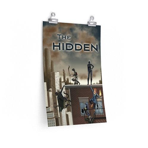 """The Hidden Premium Matte 12""""x18"""" poster"""