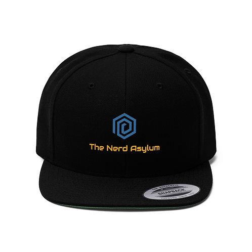 Nerd Asylum Flat Bill Hat