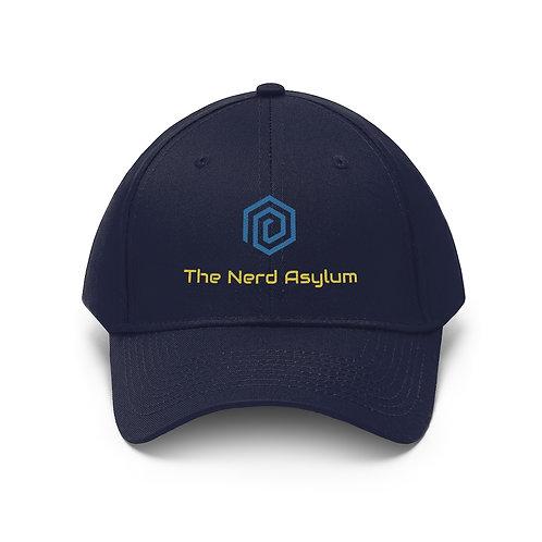 Nerd Asylum Embroidered Twill Hat