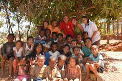 Enfants de l'association Zazakely