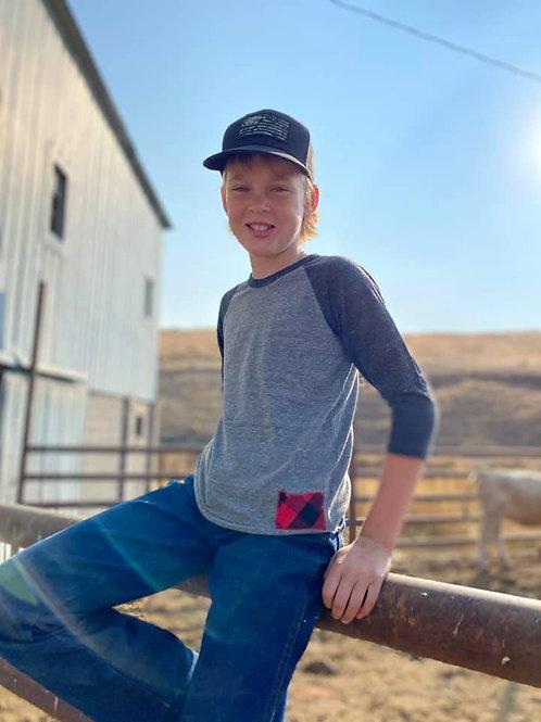 Oregon Shirt - Kids Flannel
