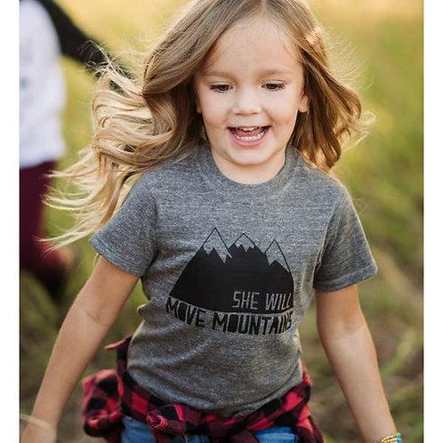 She / He Will Move Mountains - Tee