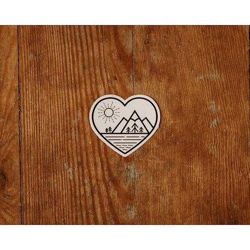 Mountain Love Sticker