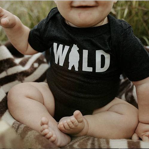 Unisex Wild Bear Onesie