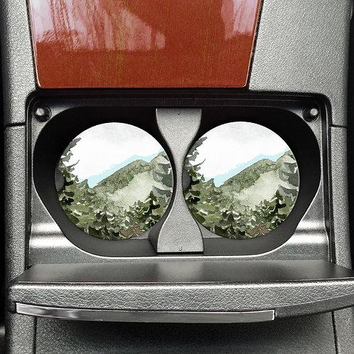 Car Coasters: Outdoors