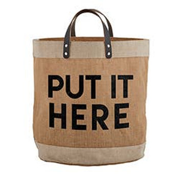 Put it Here - XL Tote