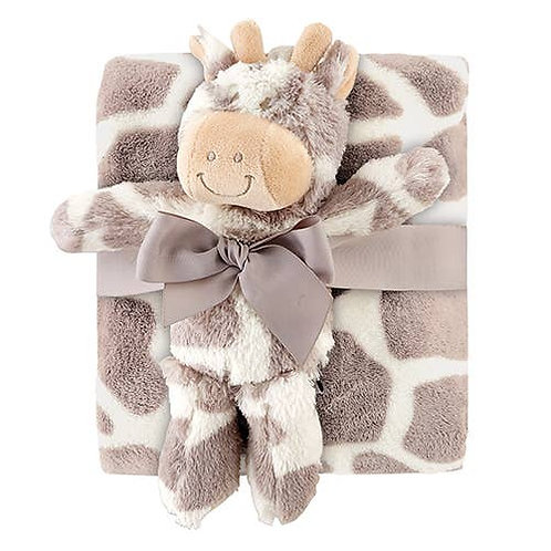 Baby Blanket & Giraffe