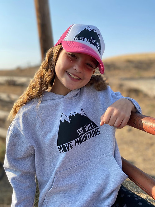 She / He Will Move Mountains - Hoodie