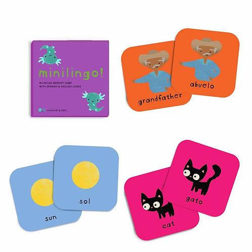Minilingo, Spanish/English Card Game