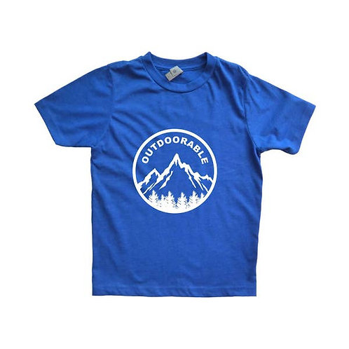 Blue with White Outdoorable Shirt