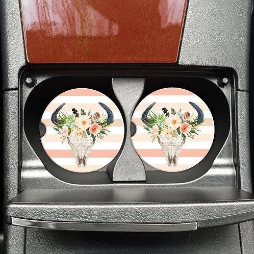 Car Coasters: Skull Head