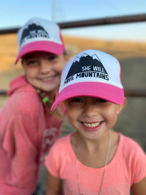 She/ He will Move Mountains - Kids Hat