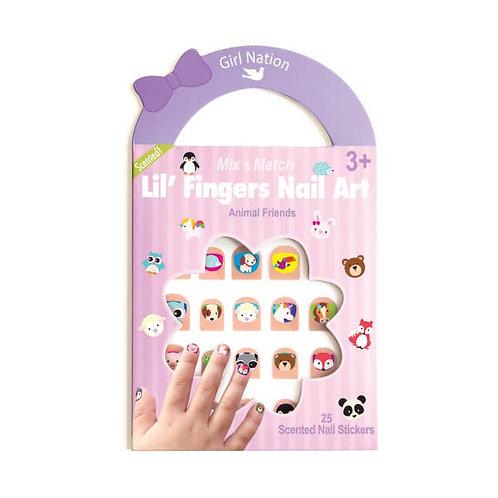 Lil' Fingers Nail Art