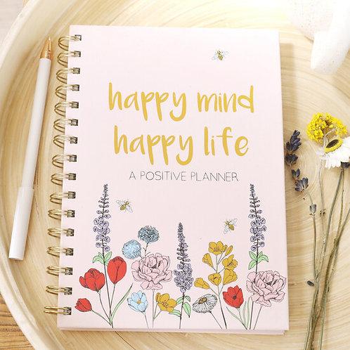 Happy Mind Happy Life Positivity Planner