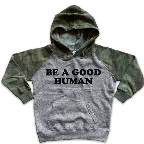 Be a good human Youth Hoodie