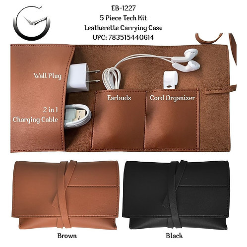 Leatherette Tech Kit