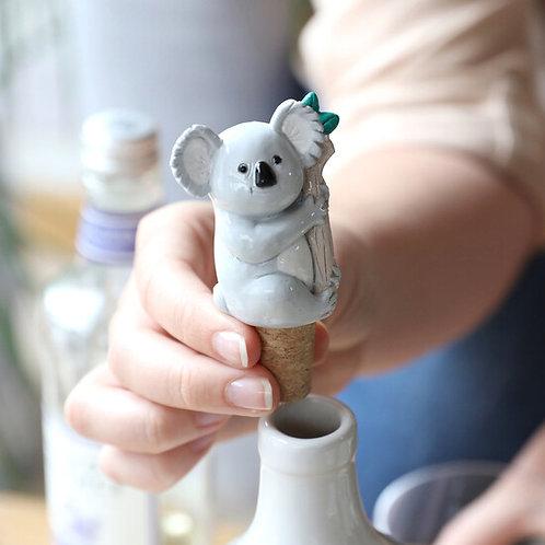 Koala Bottle Stopper