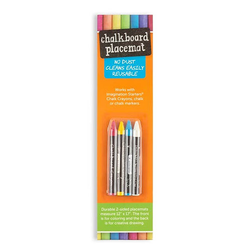 4 Color Chalkboard Crayon