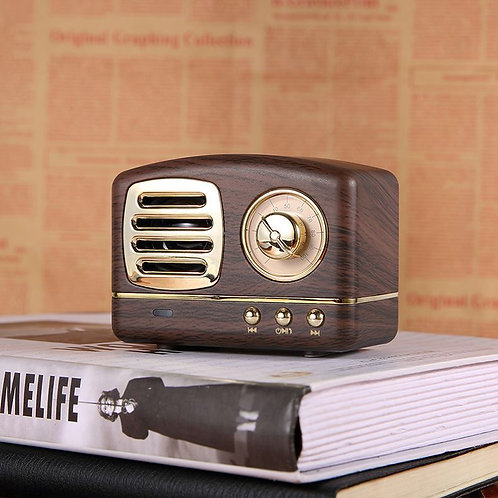 Antique Bluetooth Speaker -Brown Or Pink