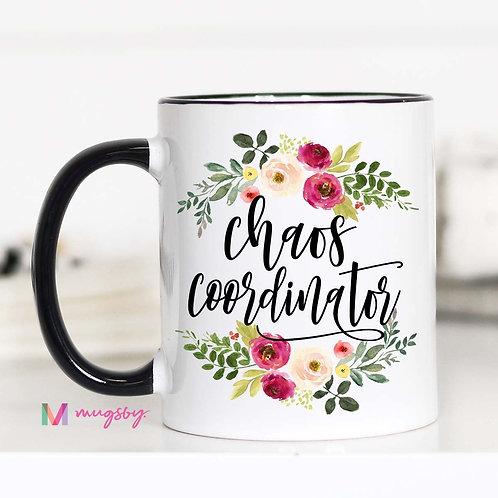 11 oz Coffee Mug: Chaos Coordinator