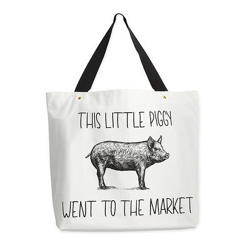 This Little Piggy - Large Tote