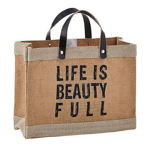 Mini Market Tote - Beauty Full