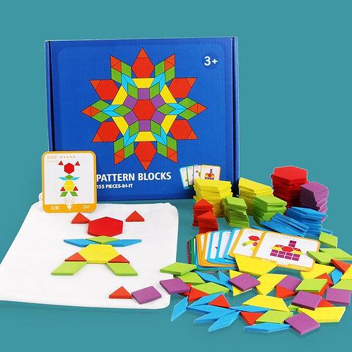 Wooden Educational Puzzle Board Set |155 Pcs