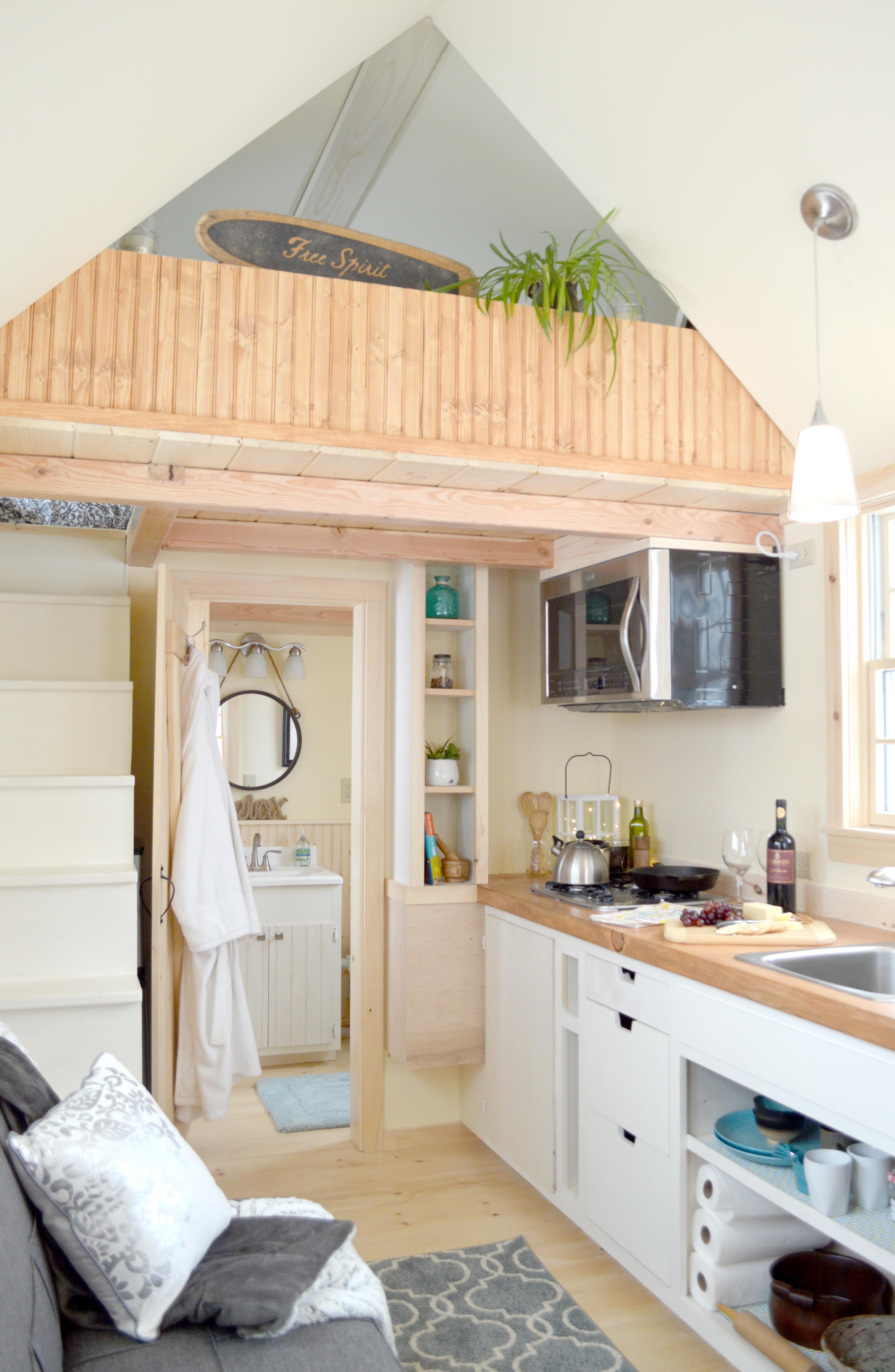 Hudson River Tiny Homes interior