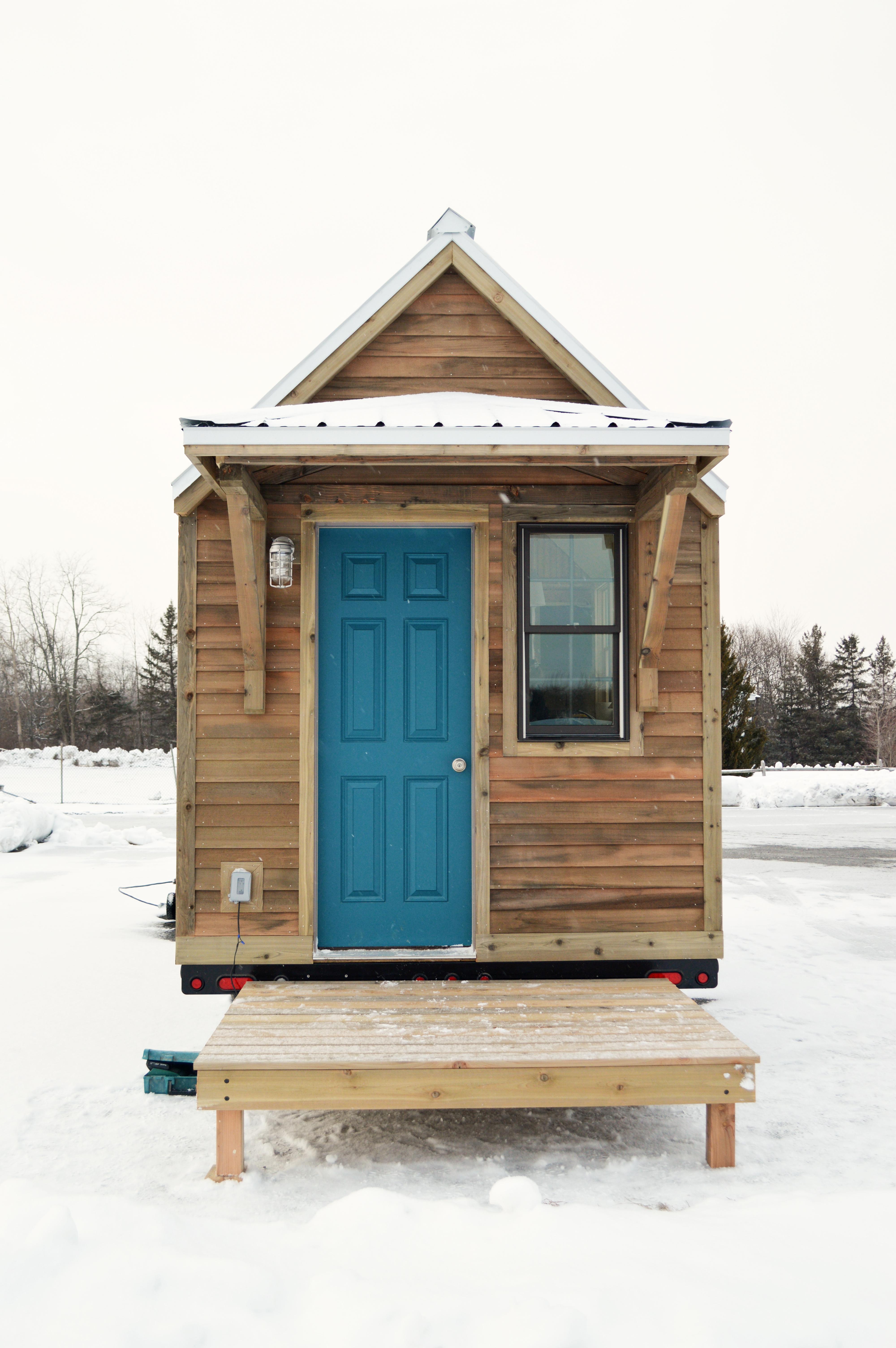 Hudson River Tiny Homes front exteri