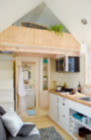 Hudson River Tiny House - The Free Spirit model from Hudson River Tiny Homes.  All rights reserved.