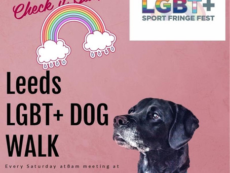 Leeds LGBT+ Weekly Dog Walk