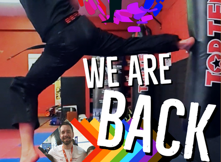 LGBT+ FULLY INCLUSIVE KICKBOXING CLASSES