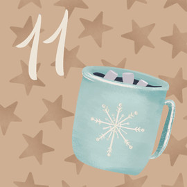 Advent 11 Frost Mug