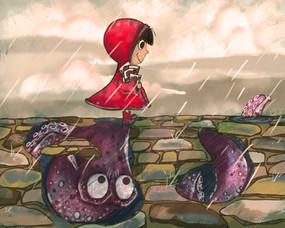 Rainy Day Octopus