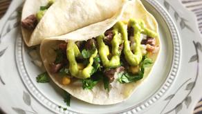 Beef Tacos with Avocado Aioli