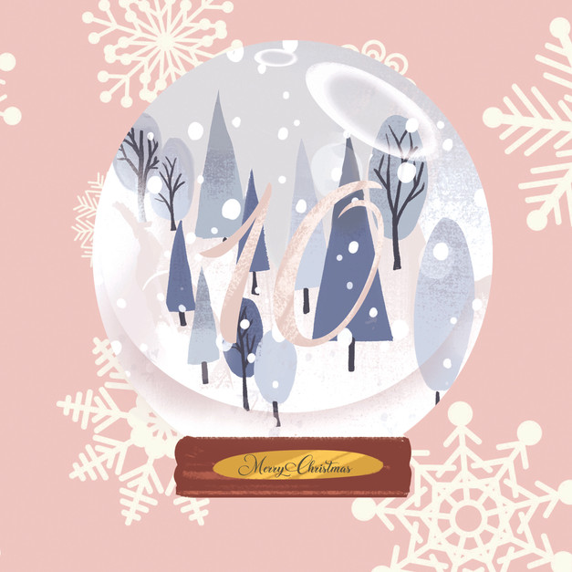 Advent 10 Winter Globe
