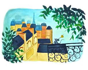 Looking Over Paris