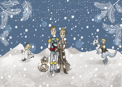 Holtzem No Words Christmas